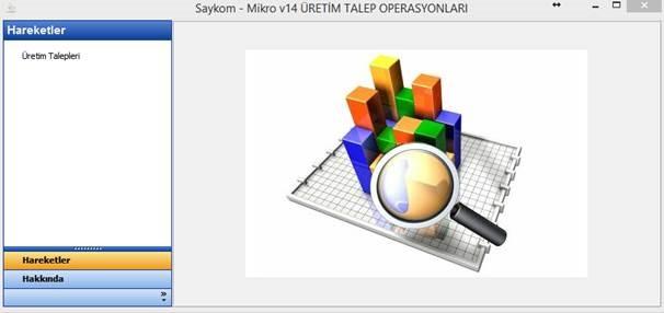 Mikro – Üretim Talepleri Toplu Operasyon İşlemleri