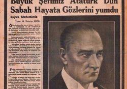 10 Kasım 1938 – O gün tüm Türkiye yağmur yağmadan ıslandı